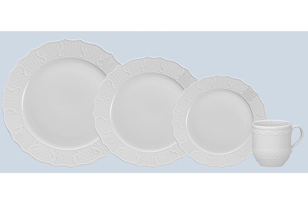 Mottahedeh PROSPERITY 4 PIECE PLACE SETTING