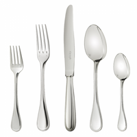 Christofle Perles Stainless Steel Flatware