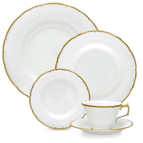 Royal Crown Derby Chelsea Duet 5 Piece Place Setting