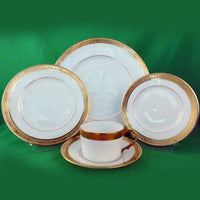 Raynaud Ambassador Gold 5 Piece Place Setting