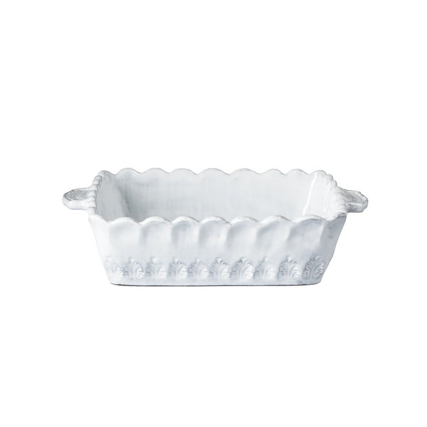Vietri Incanto Lace Small Square Baking Dish
