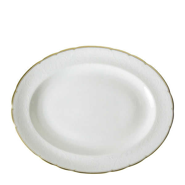 Darley Abbey Pure Gold Small Oval Platter
