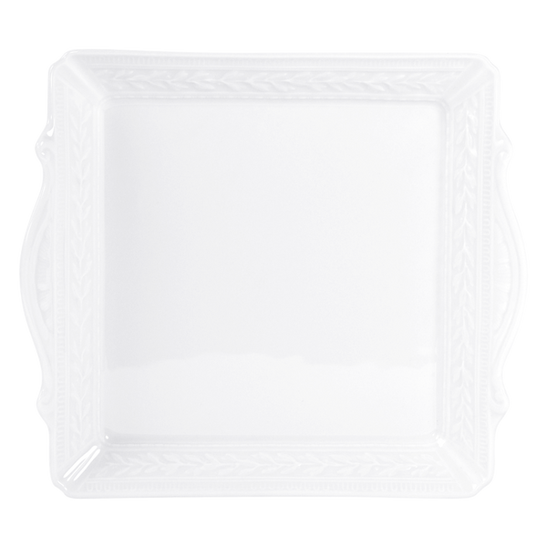 Louvre Square Handled Tray