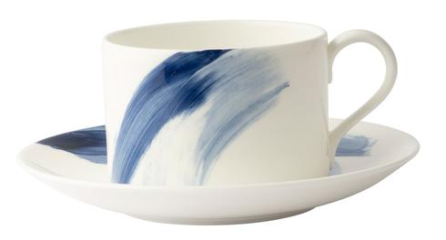 Brushstroke Tea Cup
