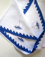 Sailboat Placemat and Tablecloth