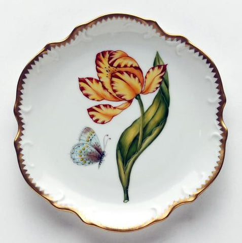 Anna Weatherley Tulips Bread and Butter, Yellow/Orange