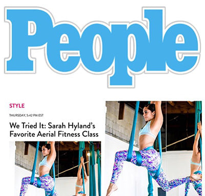 Cheribela leggings featured in People