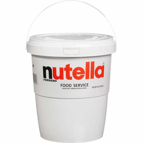 Nutella 3 kg (6.6 lb) Tub - Parthenon Foods