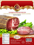 Smoked Dried Pork Shoulder, Suvi Vrat, (George's) approx. 1.3-1.6 lb - Parthenon Foods