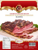 Smoked Bacon, Slanina (George's) approx. 1.2-1.4 lb - Parthenon Foods
