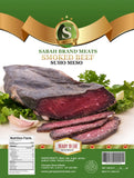 Dried Beef, Hickory Smoked (Sabah Brand) approx. 1.3 lb - Parthenon Foods