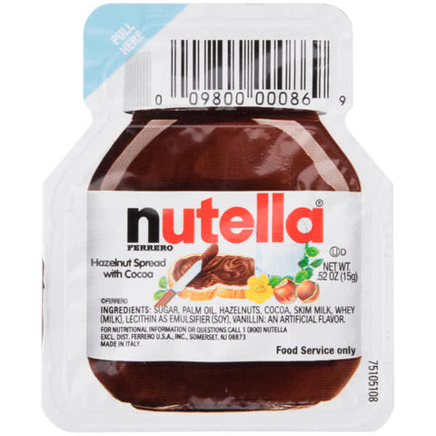 Nutella - Hazelnut Spread, 0.52 oz - Parthenon Foods