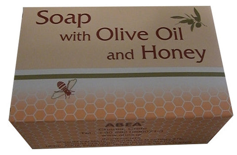 Soap with Olive Oil and Honey (ABEA) 125g - Parthenon Foods