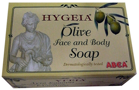 Olive Face and Body Soap (Hygeia-ABEA) 125g - Parthenon Foods