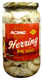 Herring Fillets in Wine Sauce (ACME) 32 oz - Parthenon Foods