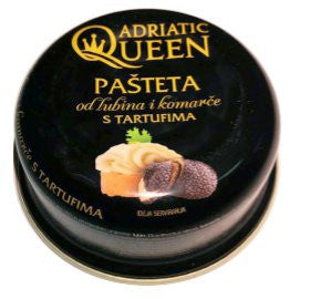 Adriatic Queen Sea Bass and Sea Bream Pate with Truffles, 3.35 oz (95g) - Parthenon Foods