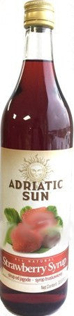 Strawberry Syrup (AdriaticSun) 1 L - Parthenon Foods
