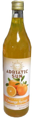 Orange Syrup (Adriatic Sun) 1L - Parthenon Foods