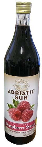 Raspberry Syrup (Adriatic Sun) 33.8 fl oz (1L) - Parthenon Foods