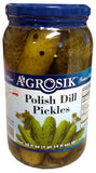 Polish Dill Pickles (Agrosik) 30oz - Parthenon Foods