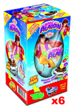 Aladdin Chocolate Egg with Surprise, 6 PACK (6 x 70g) - Parthenon Foods
