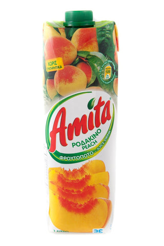 Peach Juice (amita) 1L - Parthenon Foods