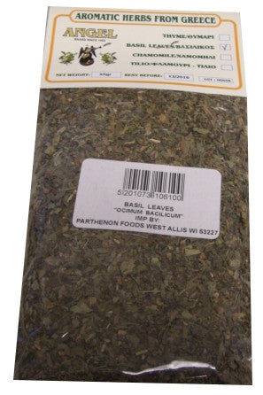 Angel Basil Leaves, 45g - Parthenon Foods