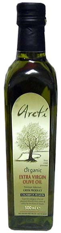 Organic Extra Virgin Olive Oil (Areti) 500ml - Parthenon Foods
