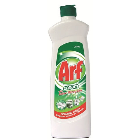 Arf Cleaner Cream with Active Micrograins, Citro, 450ml - Parthenon Foods