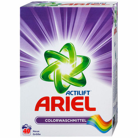 ARIEL Color Detergent Powder, 2.6kg - Parthenon Foods