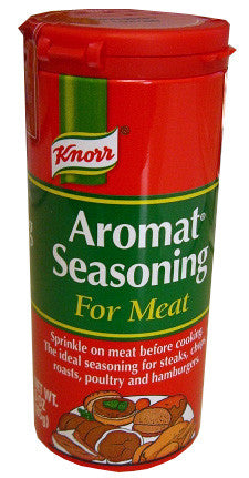 Aromat Seasoning for Meat (Knorr) 3 oz (85g) - Parthenon Foods