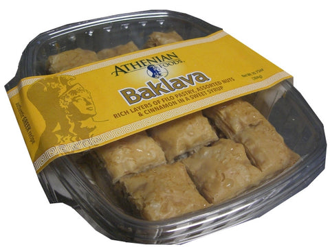 Baklava Mini (Athenian Foods) 10.75 oz (304g) - Parthenon Foods  - 1