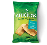 Baked Pita Chips, Original (Athenos) 9 oz - Parthenon Foods  - 2