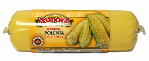 Polenta Roll (Aurora) 500g (17 oz) - Parthenon Foods