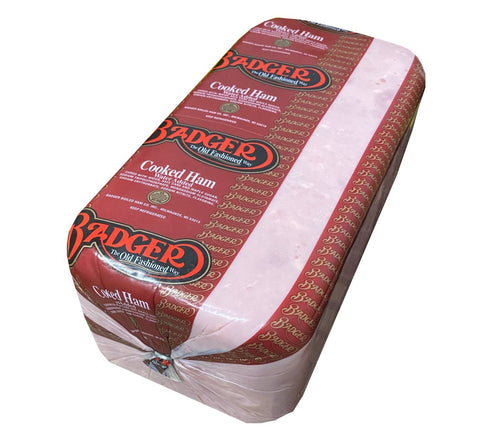Badger Cooked Ham, approx. 13 lbs - Parthenon Foods