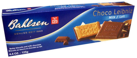 Choco Leibniz Milk Chocolate (bahlsen) 125g - Parthenon Foods
