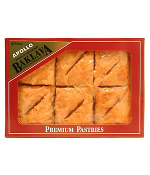 Baklava with Walnuts and Honey, 12pieces(22oz) - Parthenon Foods