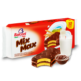 Mix Max, Sponge Cake with Cocoa Filling and Coating, 10pk 350g - Parthenon Foods