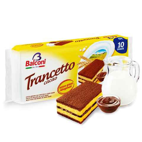 Trancetto Snack with Cocoa Filling, 10pk 280g - Parthenon Foods