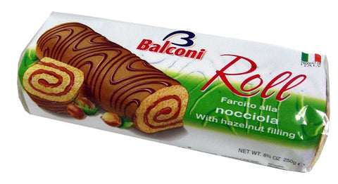 Sweet Roll Nocciola, Hazelnut, 250g - Parthenon Foods