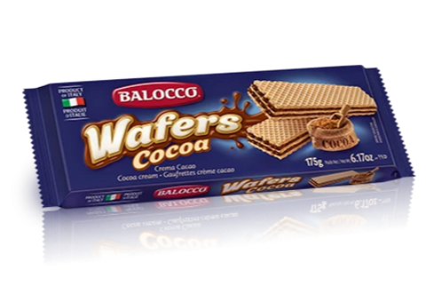 Cocoa Wafers (Balocco) 175g - Parthenon Foods