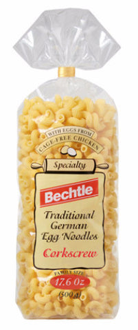 Corkscrew German Noodles (Bechtle) 17.6 oz (500g) - Parthenon Foods