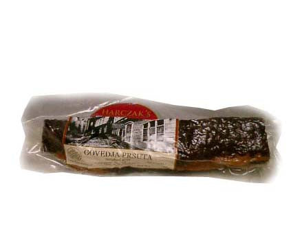 Smoked Beef Loin-Prsuta, approx. 1lb - Parthenon Foods