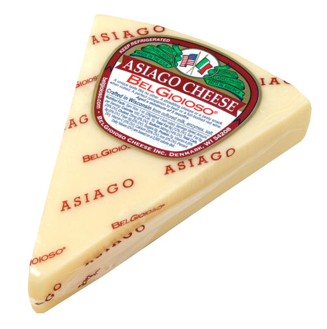Asiago Cheese, approx. 8oz wedge - Parthenon Foods