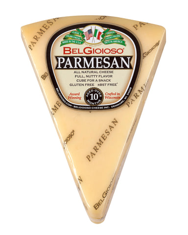 Parmesan Cheese, approx. 8oz wedge - Parthenon Foods