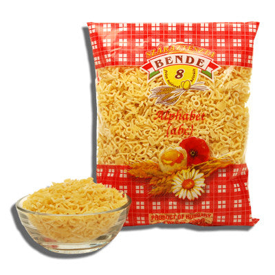 Alphabet Noodles (Bende) 7oz (200g) - Parthenon Foods