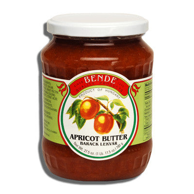 Apricot Butter (Bende)  30oz - Parthenon Foods