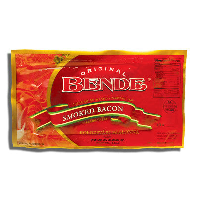 Smoked Bacon, (Bende) approx. 0.85lb - Parthenon Foods
