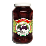 Plum Halves Compote, 24 oz - Parthenon Foods