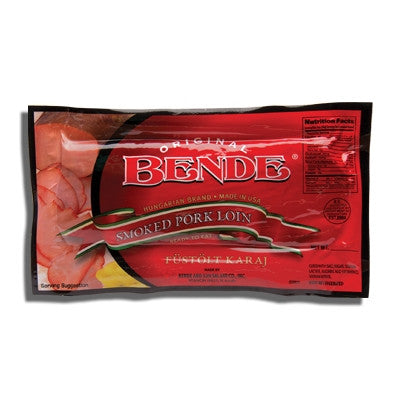 Smoked Boneless Pork Loin (Bende) approx 1.25lb - Parthenon Foods
